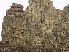 Angkor Thom, Bayon Face Towers 20180202_090639 DSCN2461