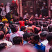 Holi in Banke Bihari Temple, Vrindavan India