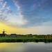Sunset at the Zaanse Schans