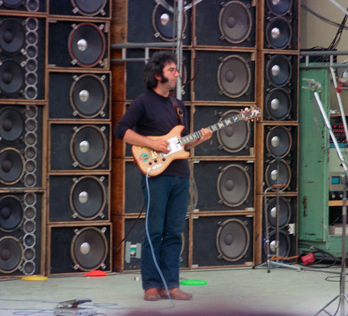 Jerry Garcia 7 21 74 Hollywood Bowl Wall Of Sound