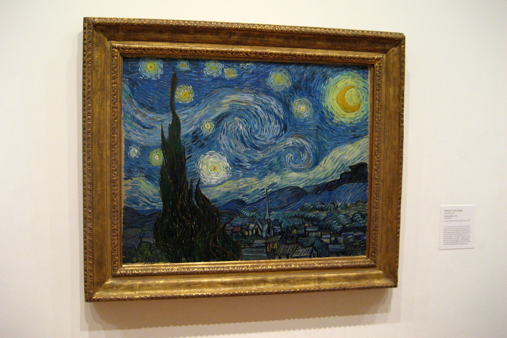 Nyc Moma Vincent Van Gogh S The Starry Night Vincent