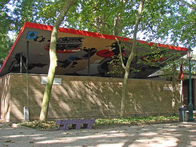 Pavillon De La Suisse Dans Les Giardini Venise Flickr