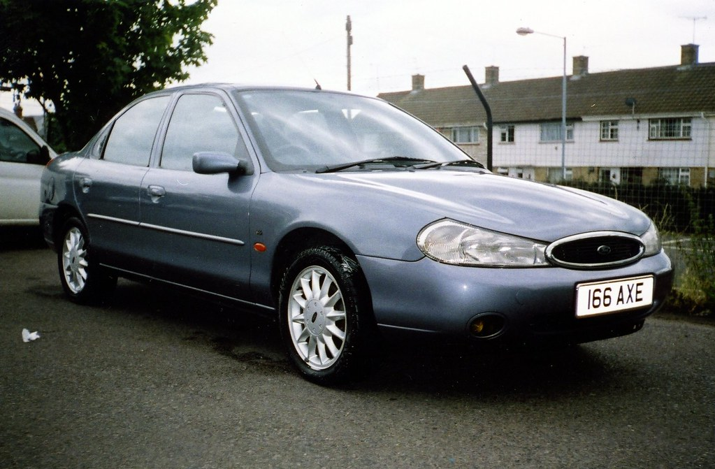 1998 ford mondeo 2 5 ghia x the axemoblie from 2002 to 200 flickr. Black Bedroom Furniture Sets. Home Design Ideas