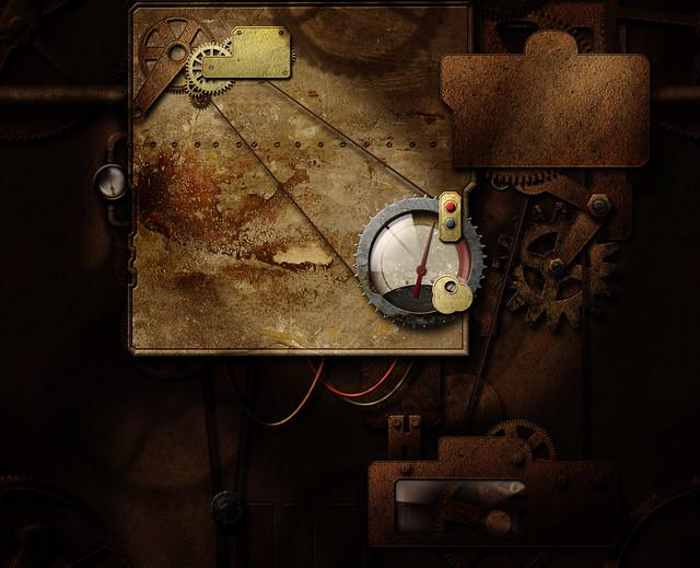 Steampunk Tile Able Background Wallpaper Desktop As
