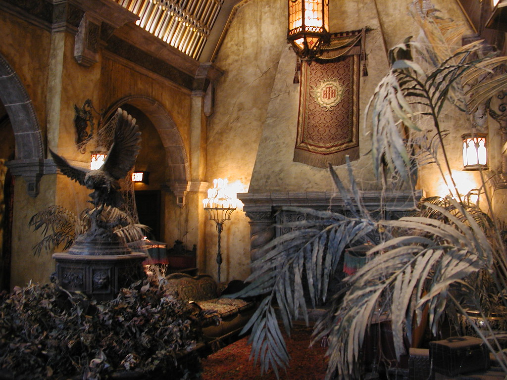 Hotel Lobby, Twilight Zone Tower of Terror, Walt Disney Wo ...