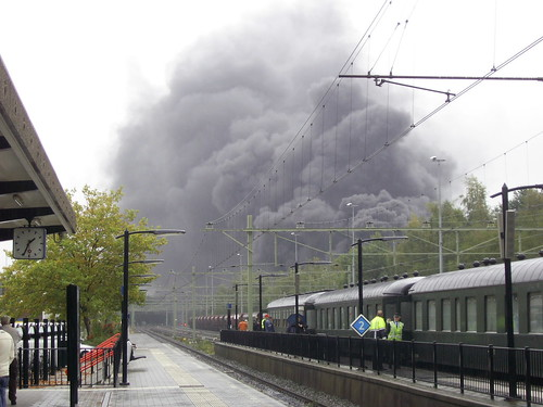 In de buurt van station oldenzaal was brand uitgebroken flickr photo sharing - Oldenzaal mobel ...