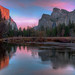 Valley View Sunset, Yosemite National Park