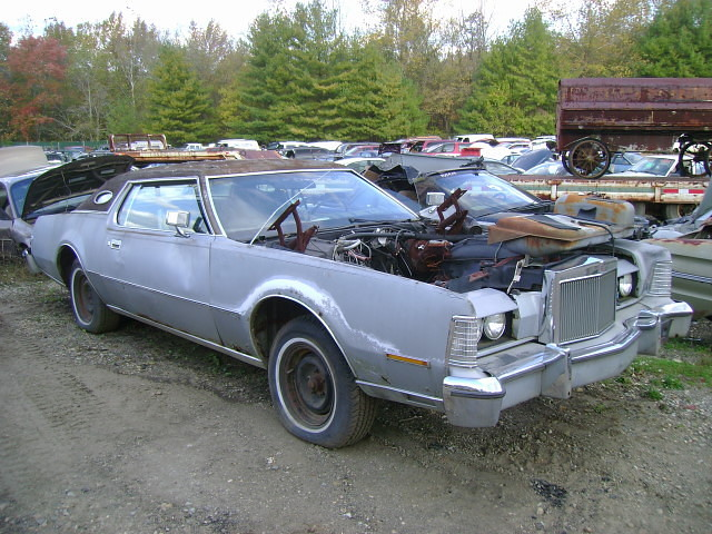 1974 Lincoln Continental Mark Iv B Amp B Auto Parts Upper