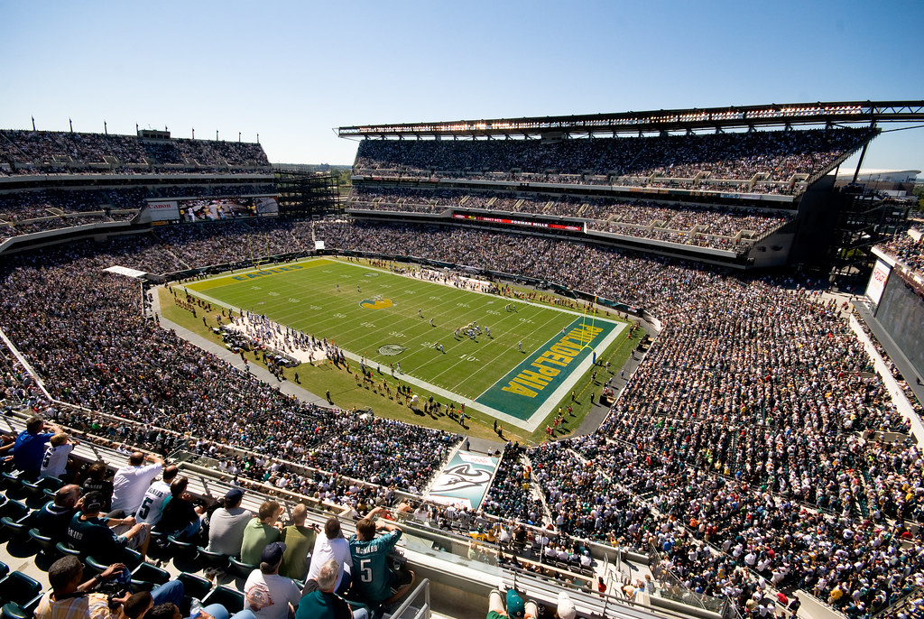 Lincoln Financial Field View From Our Seats Lee Shelly