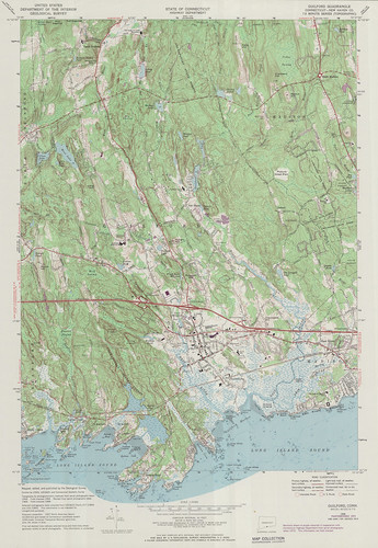 Guilford Quadrangle 1972 - USGS Topographic 1:24,000 | by uconnlibrariesmagic