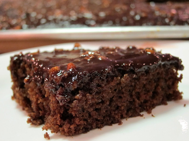 The Best Chocolate Sheet Cake. Ever. - The Pioneer Woman Might Be ...