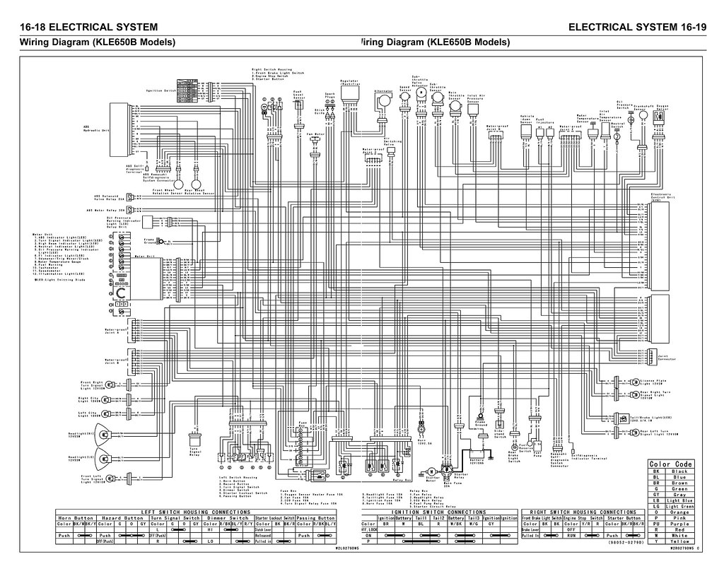 Kawasaki Wiring Diagram Wire Center Superior Broom Diagrams Versys Kle650 07 Itamar Bonneau Flickr Rh Com Fc540v Barako 175