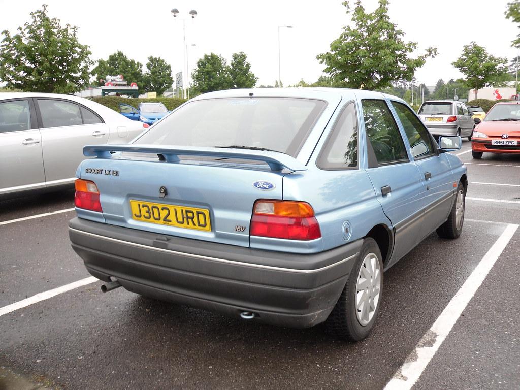 1992 ford escort mkv lx 16v hatchback as previously. Black Bedroom Furniture Sets. Home Design Ideas