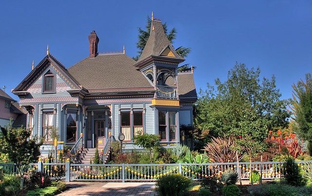 Gingerbread House Ii Victorian Architecture In Eugene