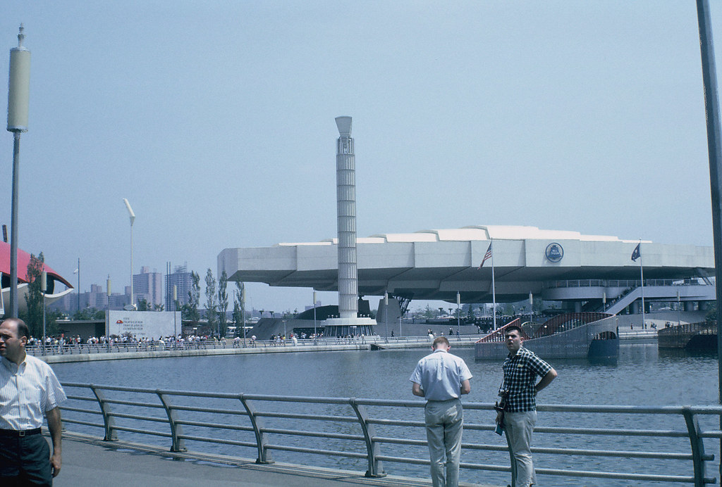 AT&T building, New York World's Fair, July 1964 | Photo by ...