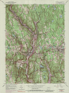 Thomaston Quadrangle 1976 - USGS Topographic Map 1:24,000 | by uconnlibrariesmagic