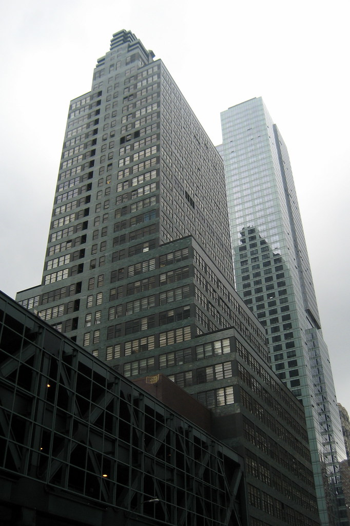 Nyc Hell S Kitchen Mcgraw Hill Building 330 West 42nd