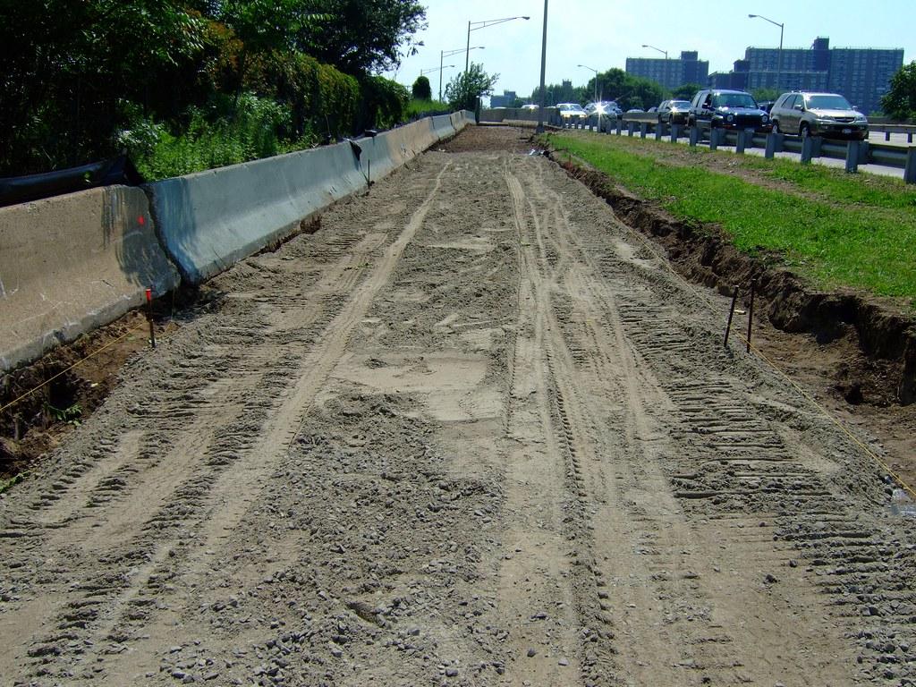 Bike Path Construction Ocean Parkway Long Island