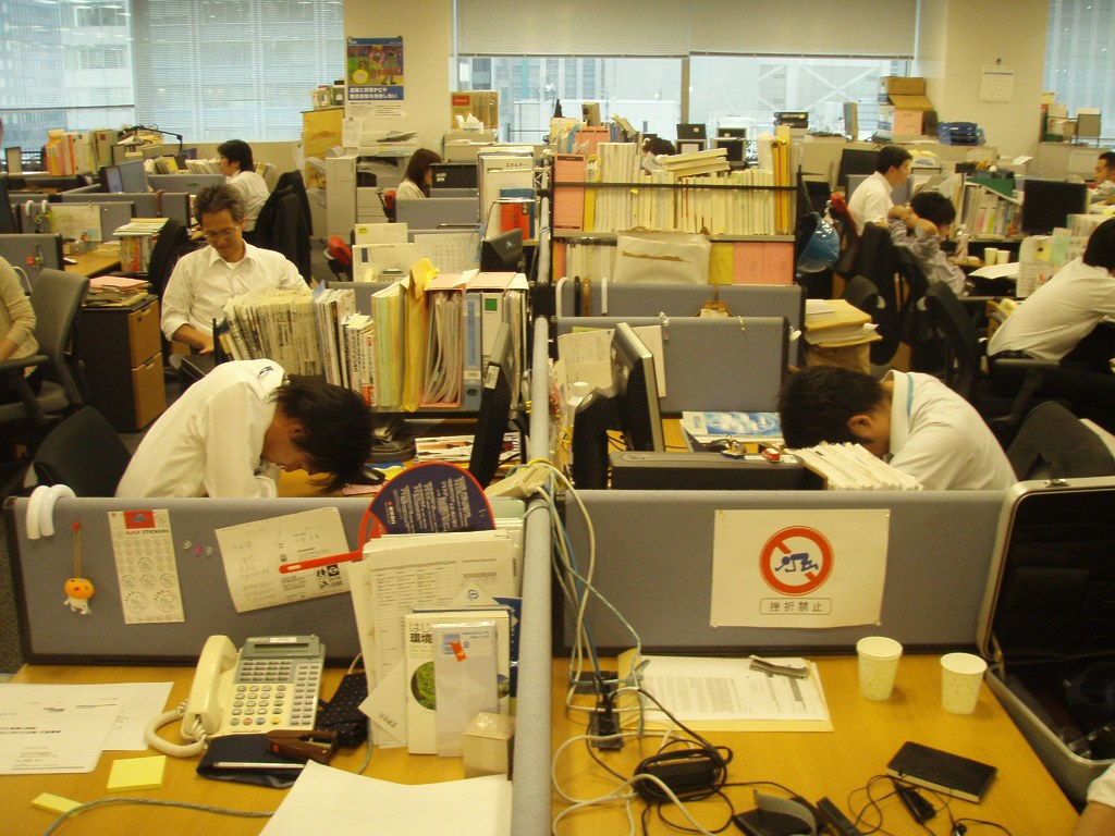Poor air quality can contribute to uncomfortable work environments and low productivity, hiroo yamagata, Flickr