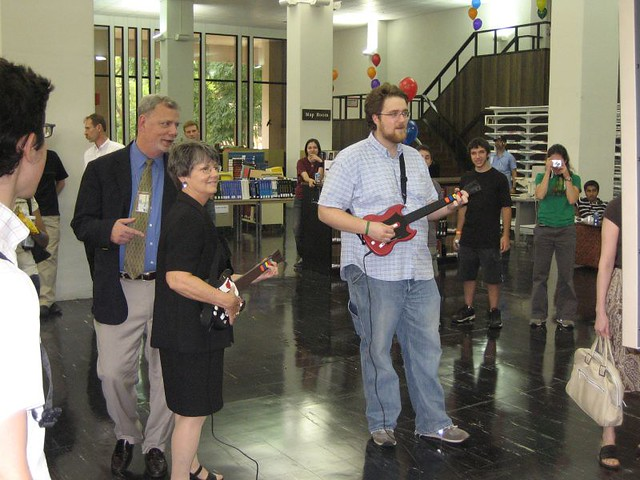 library staff rock out | Temple University Libraries | Flickr