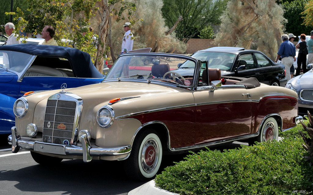 1956 mercedes benz 220s cabriolet fvl palm springs for Mercedes benz palm desert