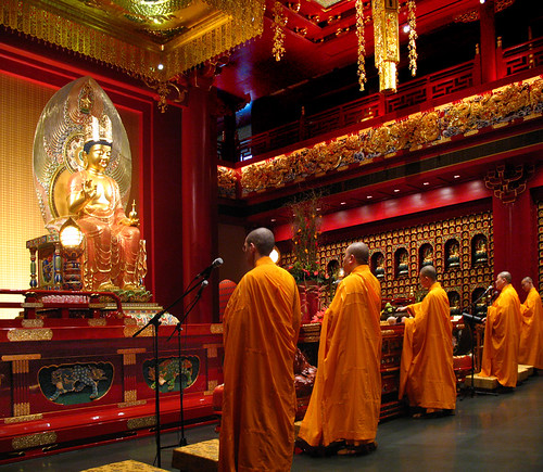 Buddha Tooth Relic Temple – Hundred Dragons Hall | by williamcho