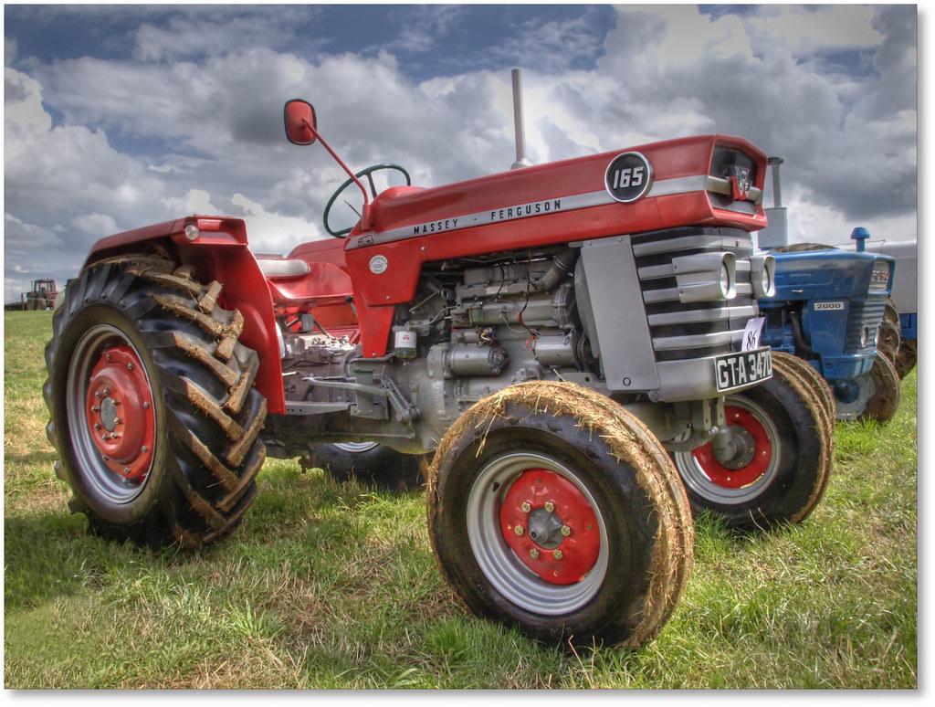 1966 Massey Ferguson Tractor : Mf a restored massey ferguson tractor circa