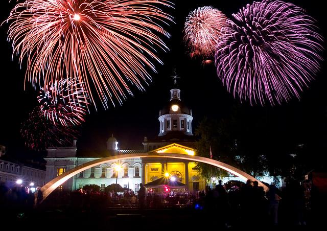 Canada day fireworks belleville ontario