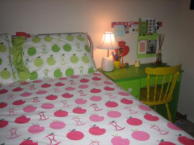 by Messaround my new apple bedding... yum! | by Messaround