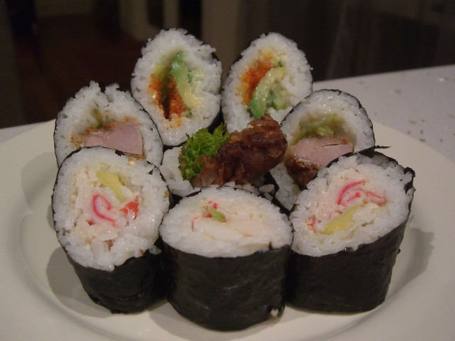 Niko Niko Sushi Kitchener Menu