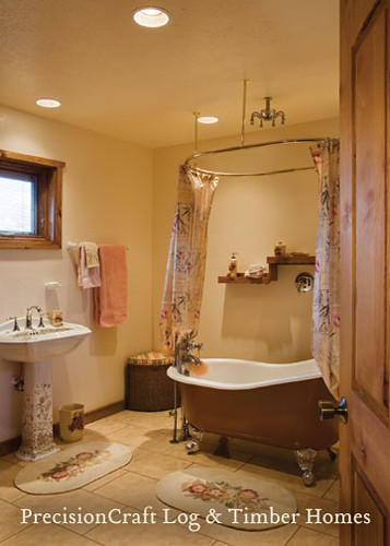decorating ideas for bedrooms bathroom in a custom milled log home located in utah s m 15103