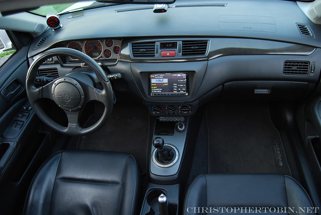 Lancer Evolution IX Interior | Christopher Tobin | Flickr