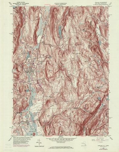 Pawling Quadrangle 1976 - USGS Topographic Map 1:24,000 | by uconnlibrariesmagic