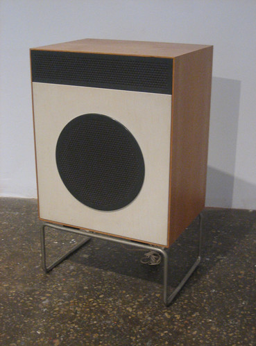 1958 Dieter Rams L2 Speaker | by Brooklyn Buttons