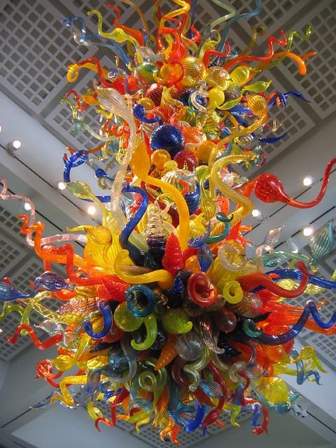 Dale Chihuly Quot Confetti Chandelier Quot 2003 Wichita Art