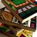 game-board coasters