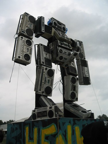 the boombox sculpture | by jksimpson