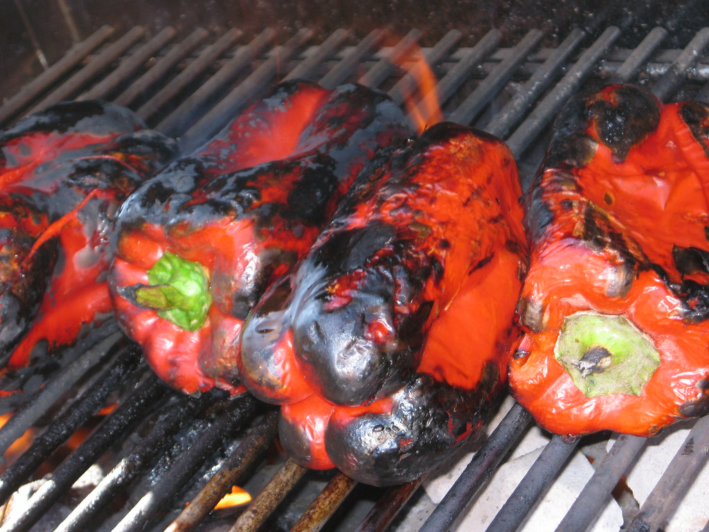 roasting peppers plus a rockin' surprise | Flickr - Photo Sharing!