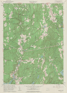 Hamburg Quadrangle 1961 - USGS Topographic 1:24,000 | by uconnlibrariesmagic