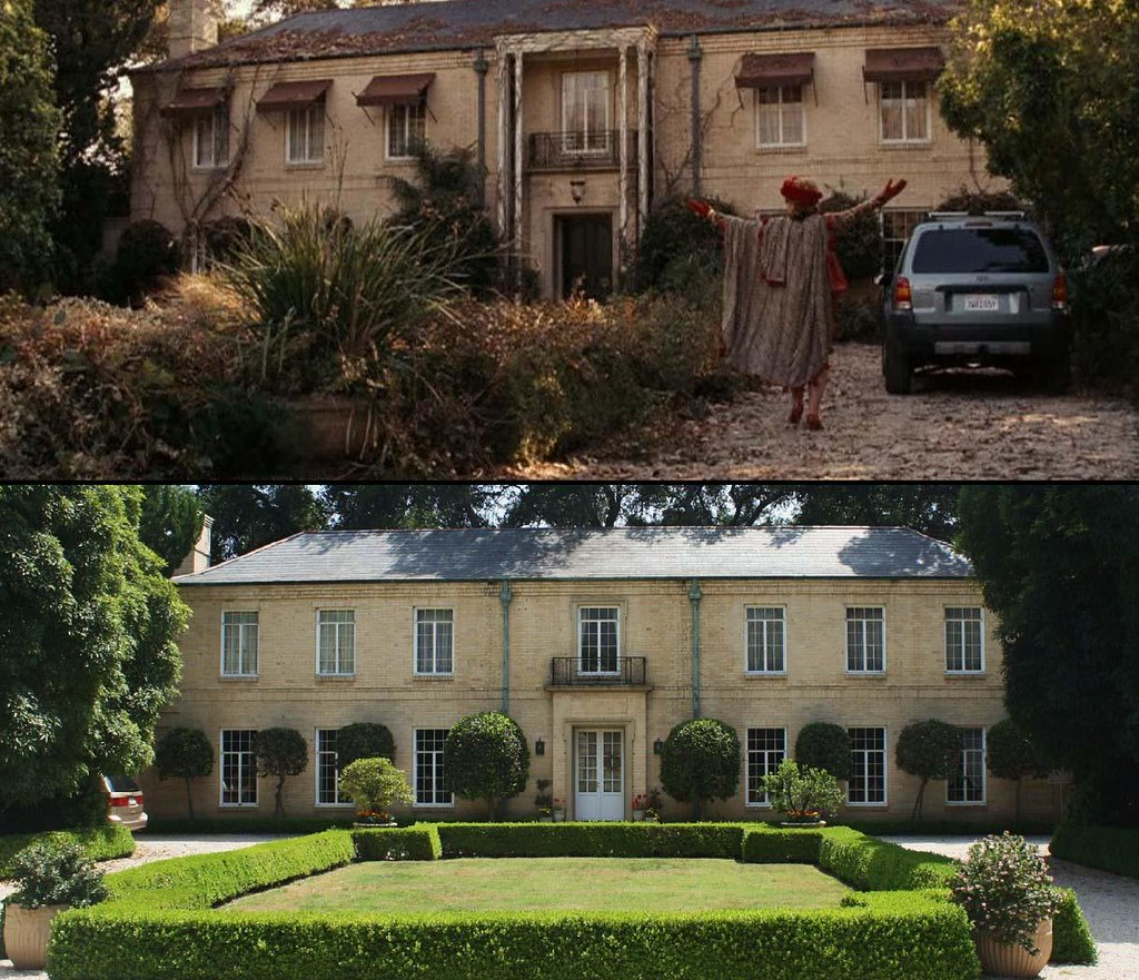 Nancy Drew | The Draycott mansion seen in the 2007 teeny