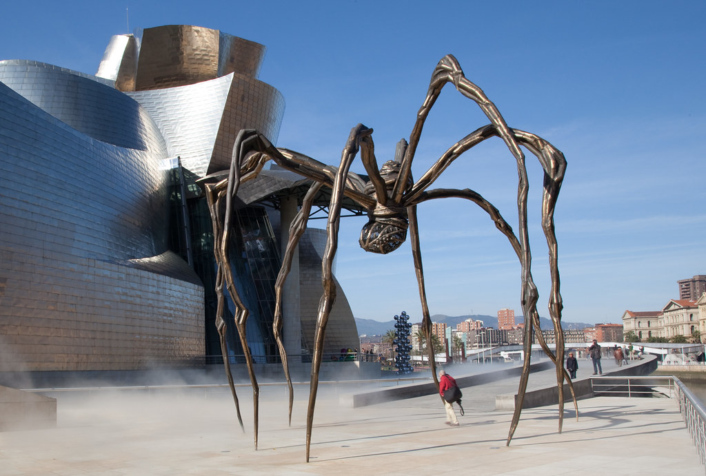 Guggenheim museum louise bourgeois 39 spider bilbao flickr - Bourgeois foto ...