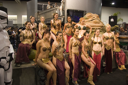 1435 Slave Leias With Jabba | by Kevin Baird