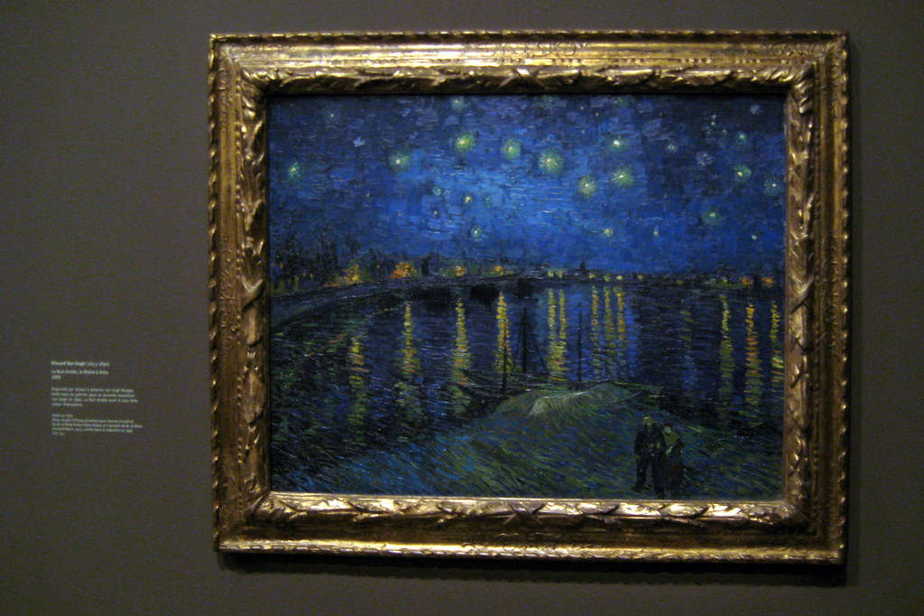 paris mus e d 39 orsay van gogh 39 s la nuit toil e flickr. Black Bedroom Furniture Sets. Home Design Ideas
