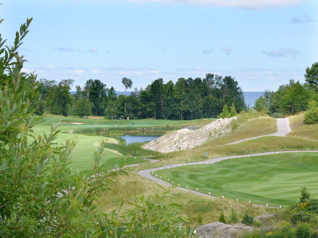 golf course off lake michigan golf course off lake michiga flickr. Black Bedroom Furniture Sets. Home Design Ideas