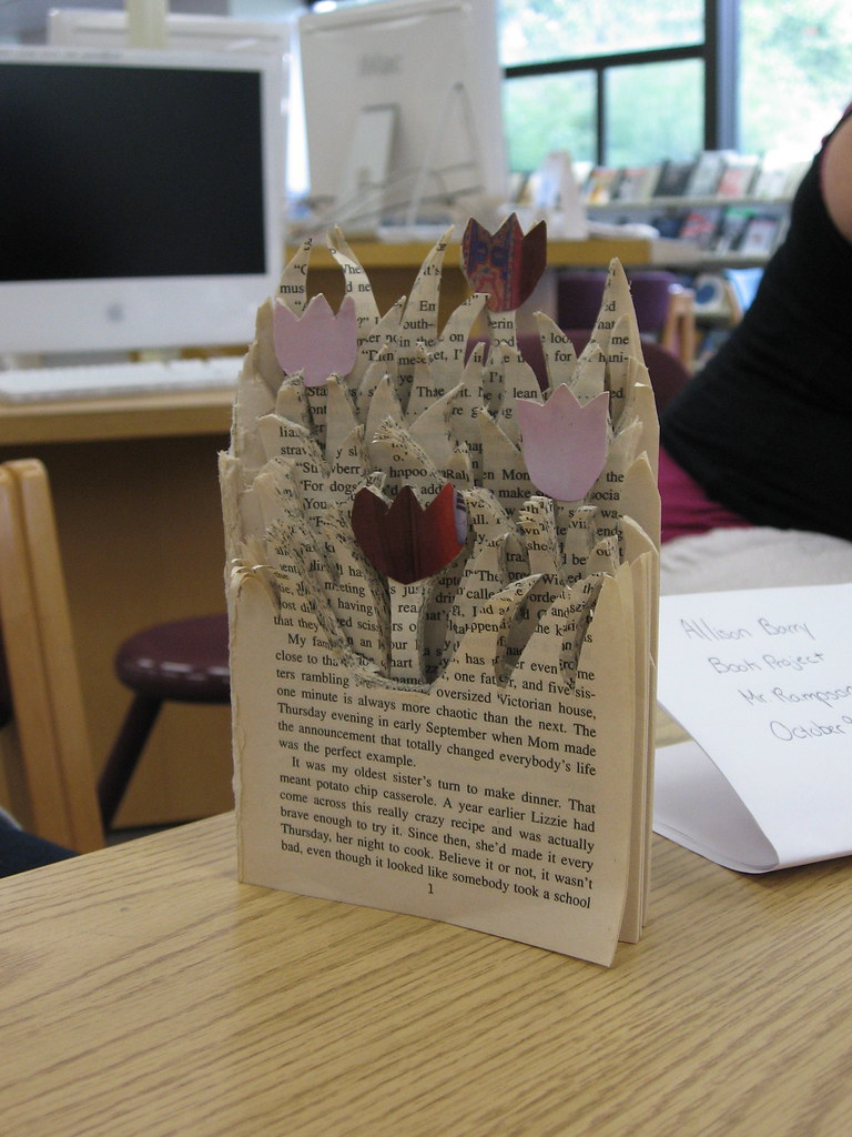 Book Sculpture | Book sculpture created for Peter Rampson