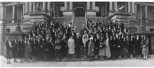 General Federation of Women's Clubs with President Hoover, Washington, D.C., January 8, 1930 | by General Federation of Women's Clubs