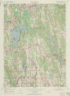 Litchfield Quadrangle 1970 - USGS Topographic Map 1:24,000 | by uconnlibrariesmagic