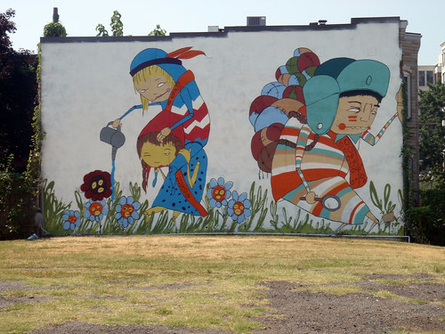 Mural by Kelly Towles | by Daquella manera