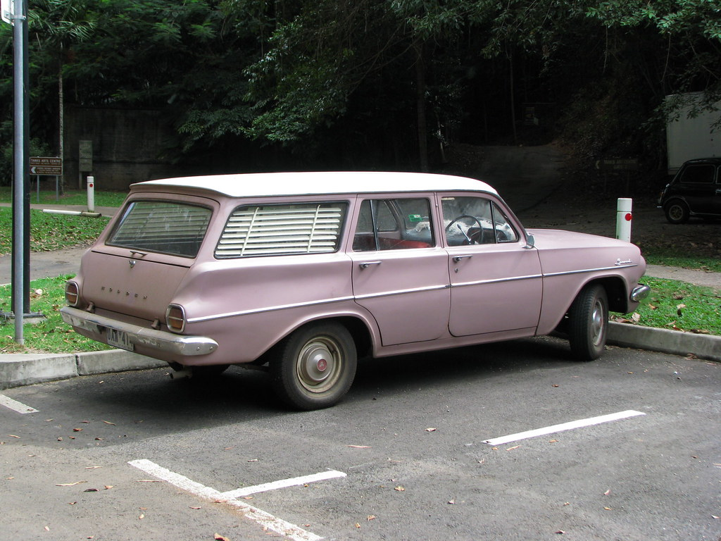 Holden Ej Station Wagon I Mentally Associate Them With