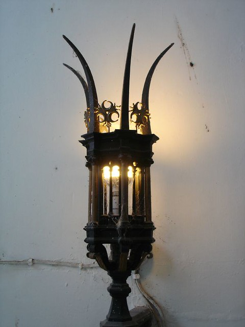 Gothic lampshade featherstone castle does gothic on a spec flickr gothic lampshade by melly 65 aloadofball Image collections